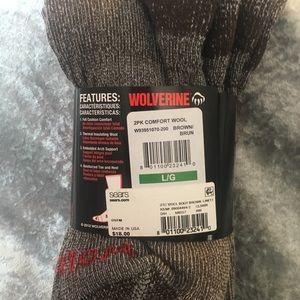 wolverine Underwear & Socks - Wolverine 2pack wool socks